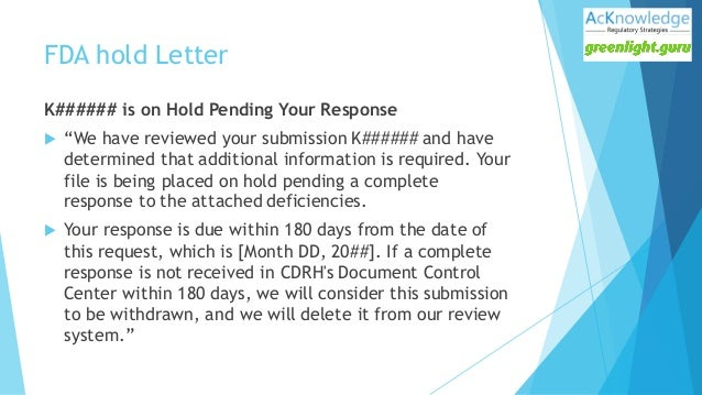 FDA 510 k Submission Tips & Best Practices