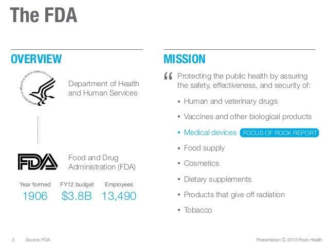 FDA 101: A guide to the FDA for digital health entrepreneurs by @Rock_Health Slide 3
