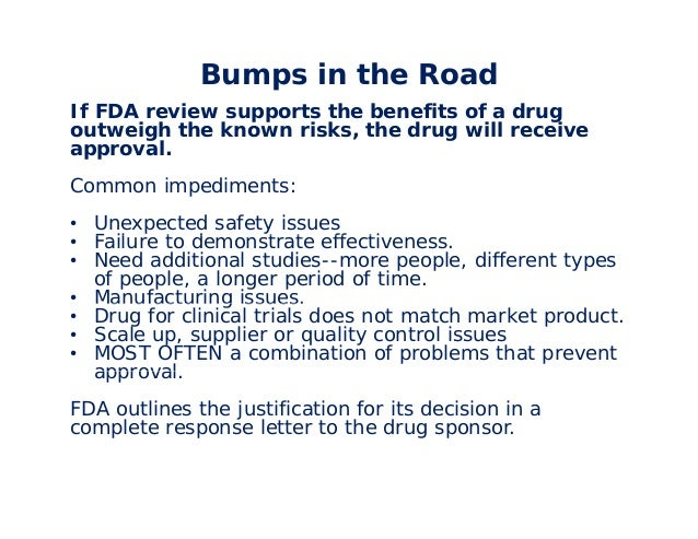 fda complete response letter fda applications in a nutshell 21687 | fda applications in a nutshell 43 638