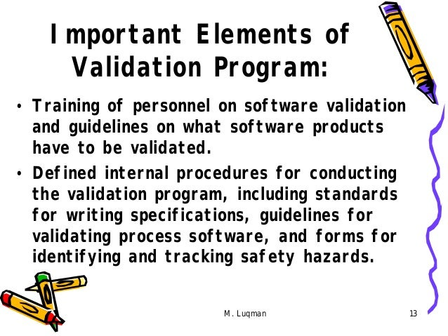 FDA/EC/WHO Expectations for Computer System Validation