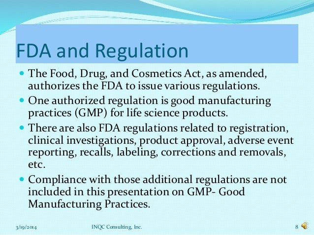 fda regulations on food Like other food substances, dietary supplements are not subject to the safety and efficacy testing requirements imposed on drugs, and unlike drugs they do not require prior approval by the fda however, they are subject to the fda regulations regarding adulteration and misbranding.