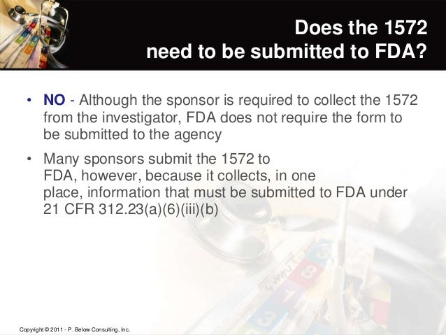 Compliance with the FDA Guidances on Investigator Responsibilities an…