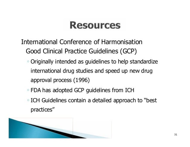 good clinical practice guidelines fda