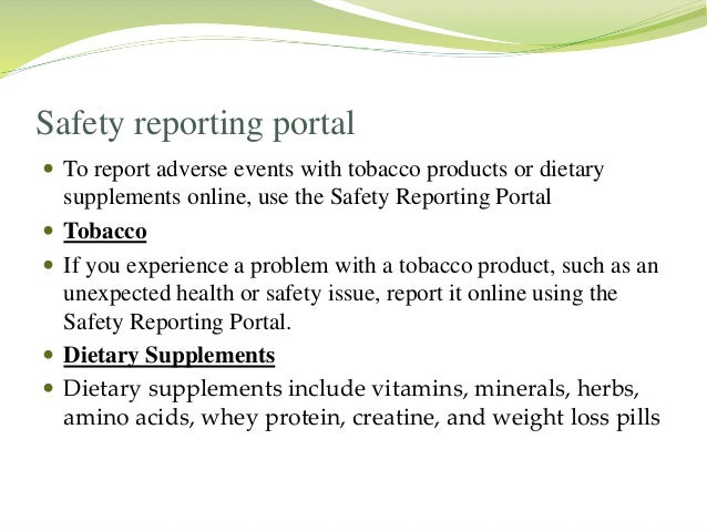2 Current Adverse Event Reporting Systems | Adverse Drug ...