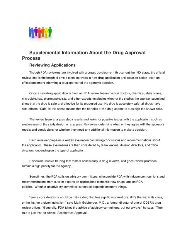 what is a supplemental new drug application