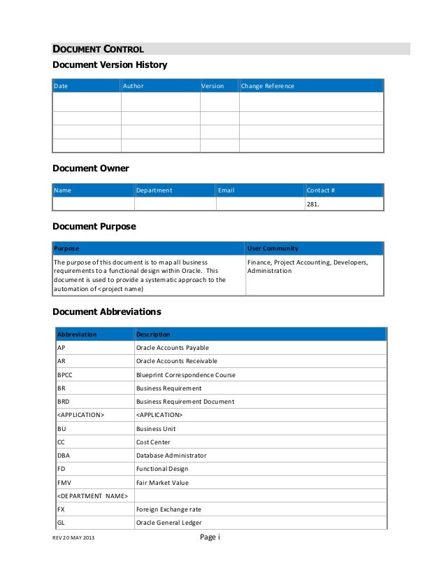 Fd document functional design document fdd subject date insert company logo 2 malvernweather
