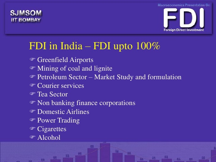 fdi conclusion There are three types of fdi: inward foreign direct investment and   conclusion fdi provides india with stability in inflow of funds,.