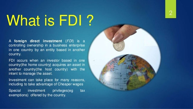 both home country and host country in fdi Home country measures and fdi: implications for host country development published by cuts centre for competition, investment & economic regulation.