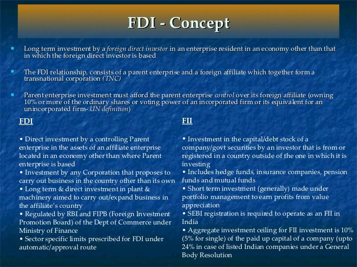 advantages and disadvantages of fdi in china and india essay Advantages of fdi in retail in india : (1) growth in economy : due to foreign companies entering into retail sector, new infrastructure will be built thereby bolstering the jagging real estate sector.