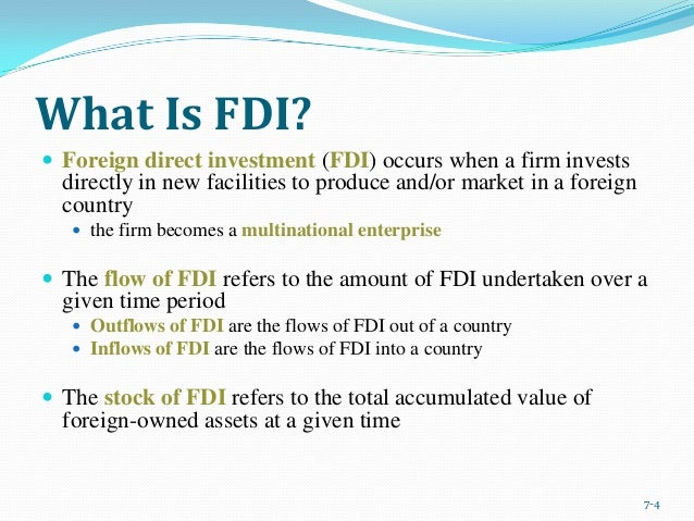 what are the advantages and disadvantages of direct investment in a foreign market Definition of foreign direct investment (fdi) reasons why firms invest overseas an evaluation of the advantages and disadvantages of foreign direct investment.