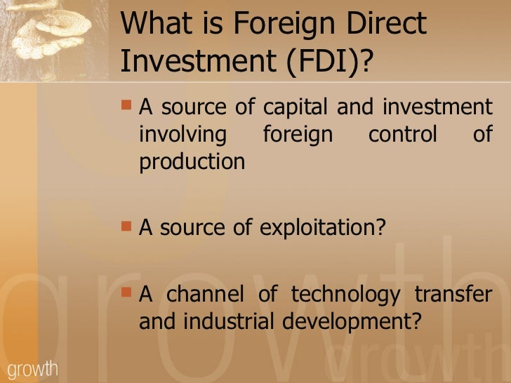 foreign direct investment disadvantages Greenfield investment and the motivation of fdi considering that most of the   fdi from korea still seeks to overcome disadvantages which have changed over .