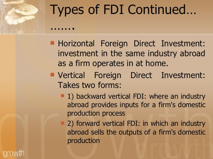 foreign direct investment in india Foreign direct investment in india 127 the big opening up came in 1991, following yet another external crisis this time, the government went much further than before.