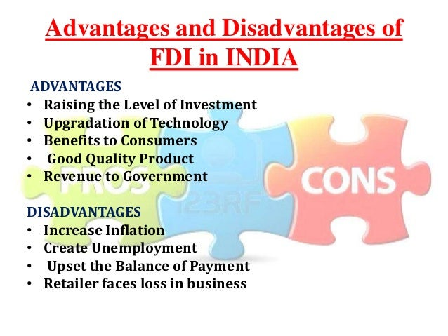 impacts of fdi in india Fdi and its effect on the indian fashion apparel industry opportunity for india to upgrade its seen how the new fdi initiative actually impacts the industry.