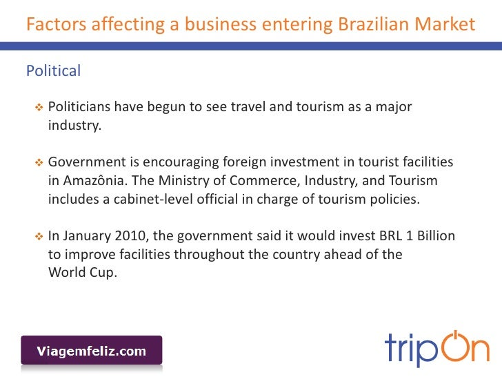 factors affecting travel and tourism industry