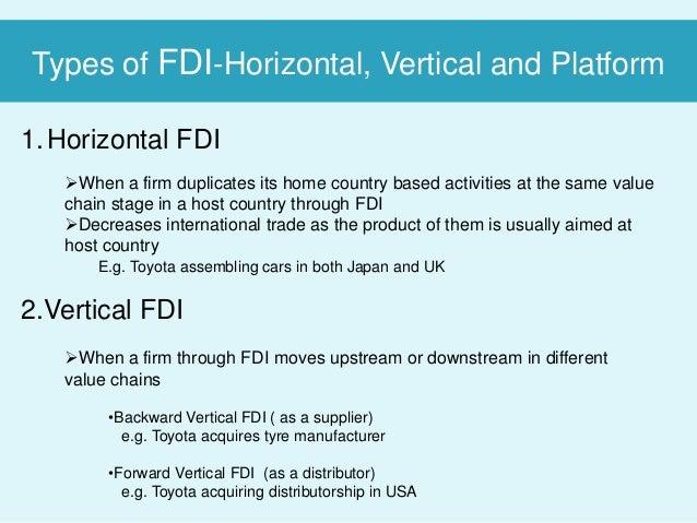 horizontal fdi examples
