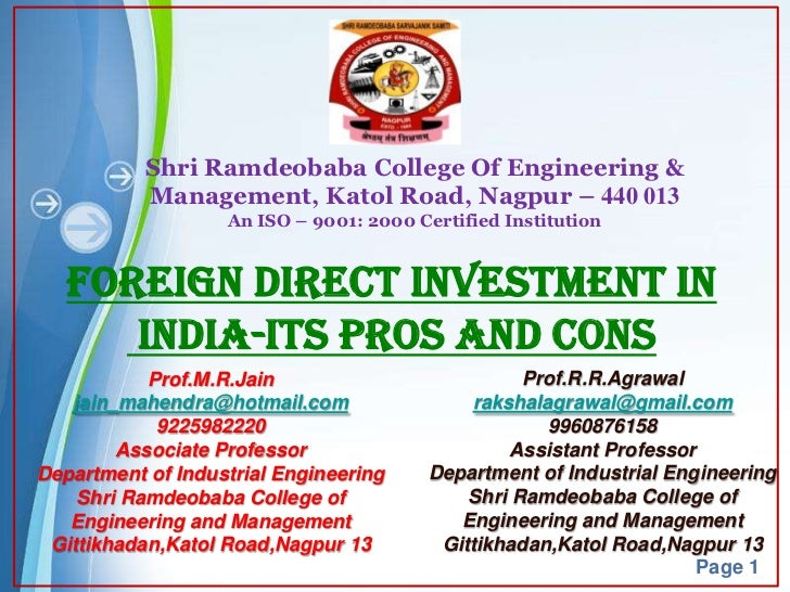 Shri Ramdeobaba College Of Engineering &           Management, Katol Road, Nagpur – 440 013                   An ISO – 900...