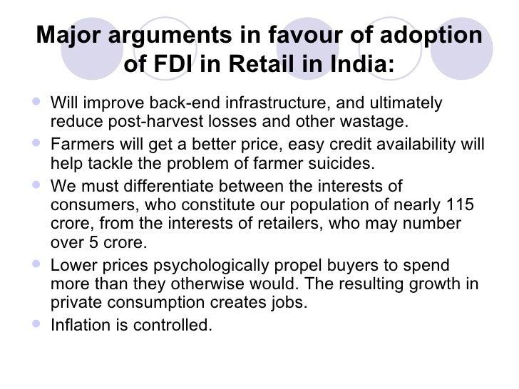Impact of fdi on indian consumer
