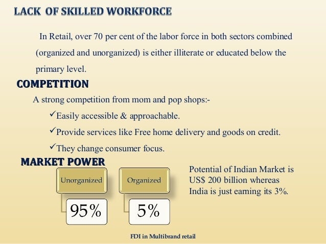 Fdi in retail sector challenges and