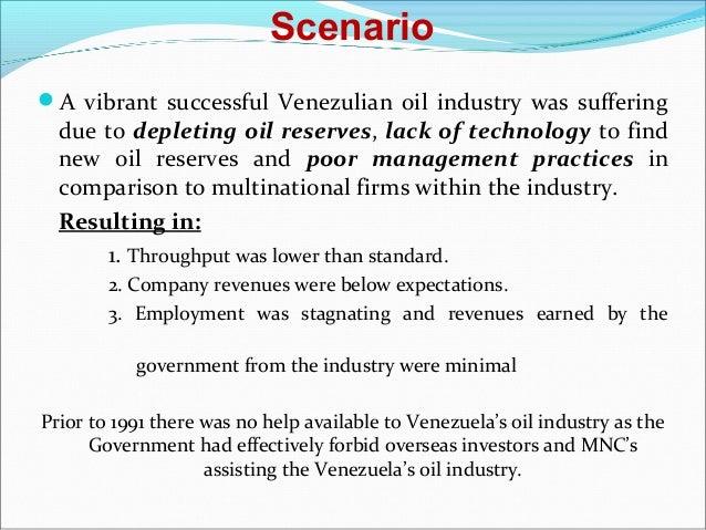 Venezuela's once-proud oil industry is collapsing
