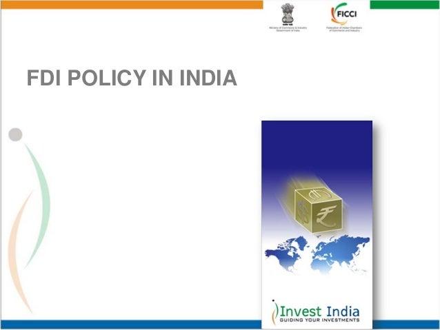 FDI POLICY IN INDIA