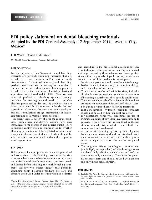 International Dental Journal 2013; 63: 2–3    ORIGINAL ARTICLE                                                            ...