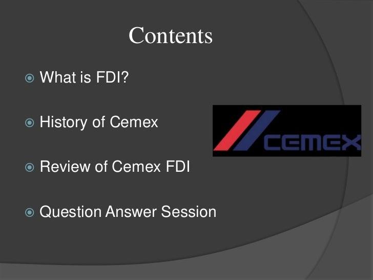 Question Case Cemex Essay Sample