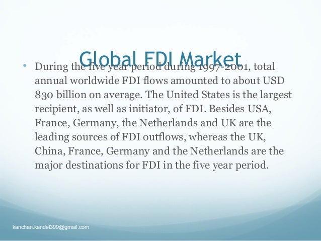 Difference Between FDI and FPI