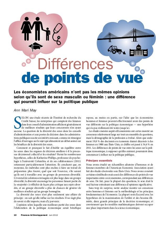 10 Finances & Développement Juin 2013 S ELON une étude récente de l'Institut de recherche du Crédit Suisse, les entrepri...