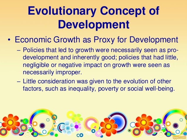 The Nature and Meaning of Development by APS