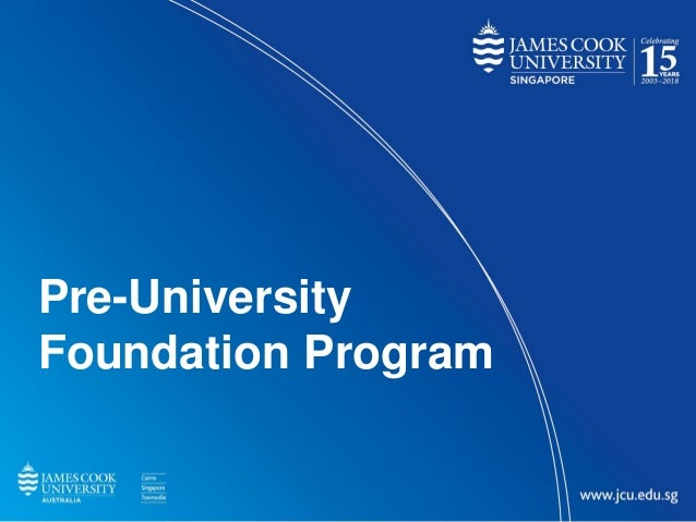 Title SubheadingPre-University Foundation Program