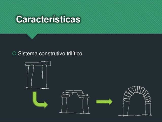 Características  Sistema construtivo trilítico