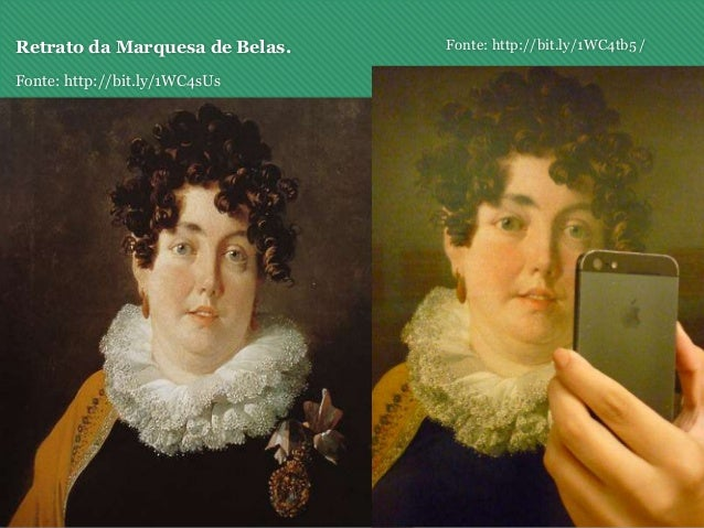 Retrato da Marquesa de Belas. Fonte: http://bit.ly/1WC4sUs Fonte: http://bit.ly/1WC4tb5 /