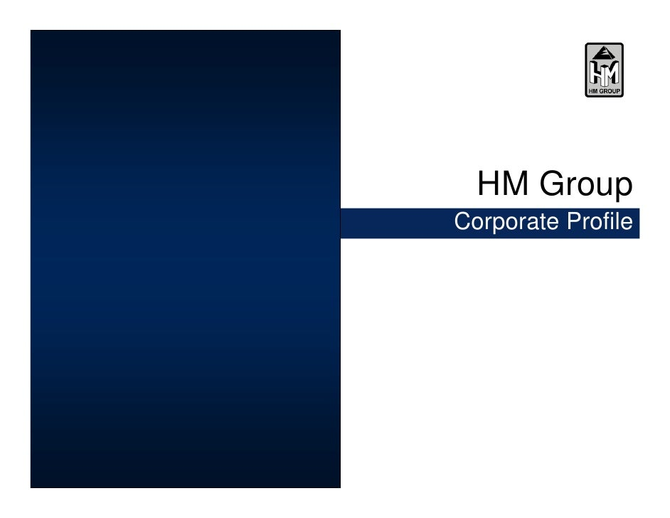 HM Group Corporate Profile