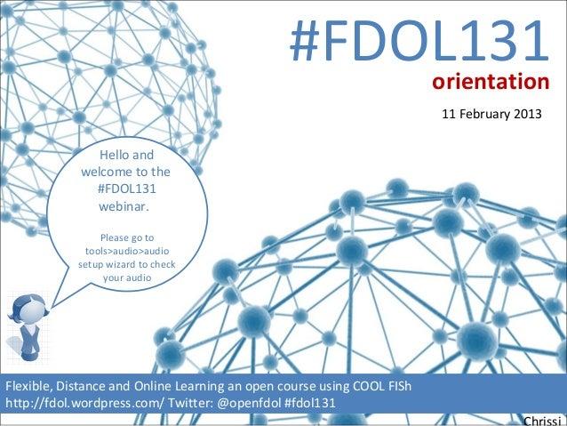 #FDOL131                orientation                                                                        11 February 201...