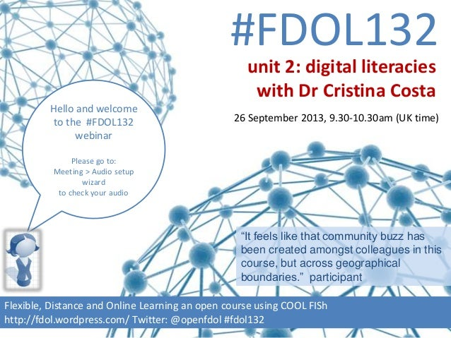 #FDOL132 Hello and welcome to the #FDOL132 webinar Please go to: Meeting > Audio setup wizard to check your audio Flexible...