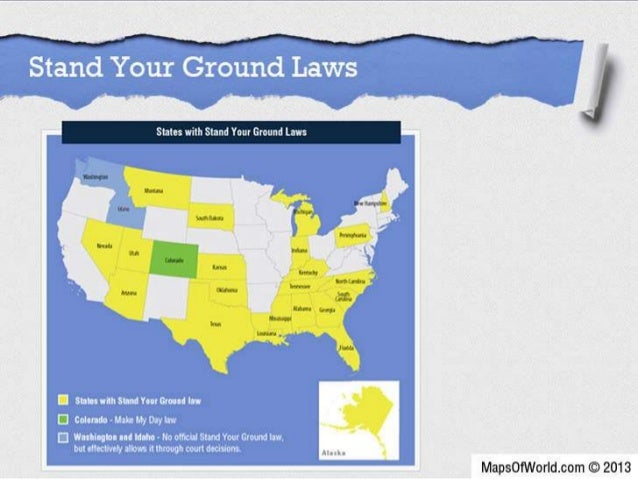 Stand Your Ground Law A License To Kill