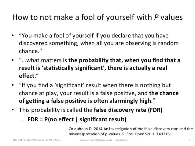 how to make a fool of yourself