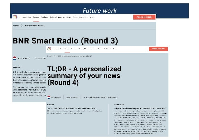 FD recommendation engine in personalized newsletters Slide 26