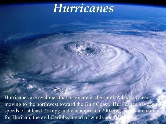 Atlantic Ocean Natural Disasters