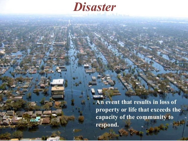 Natural Disasters Lecture 1 (Introduction) Slide 3