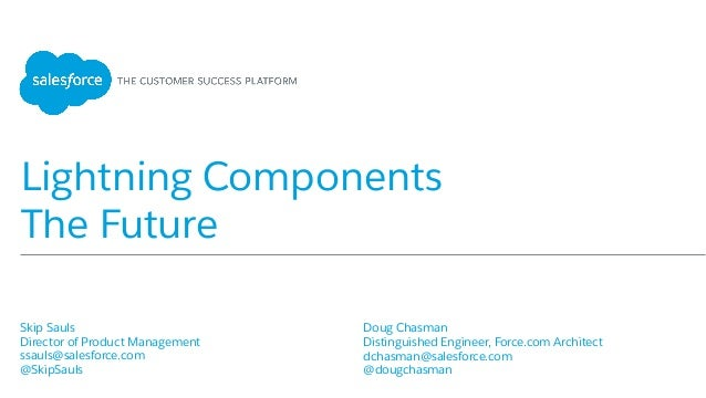 Lightning Components: The Future
