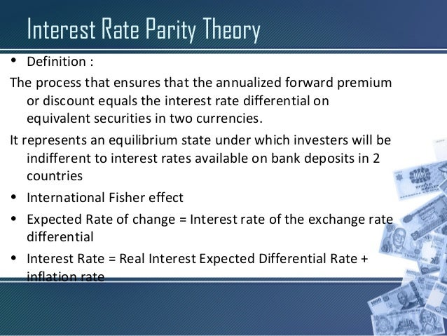Interest rate differential forex formula