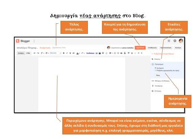 Τίτλος ανάρτησης. Περιεχόμενο ανάρτησης. Μπορεί να είναι κείμενο, εικόνα, σύνδεσμος σε άλλη σελίδα ή συνδυασμός τους. Επίσ...