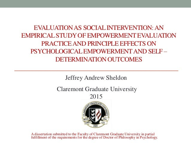 Cgu dissertation