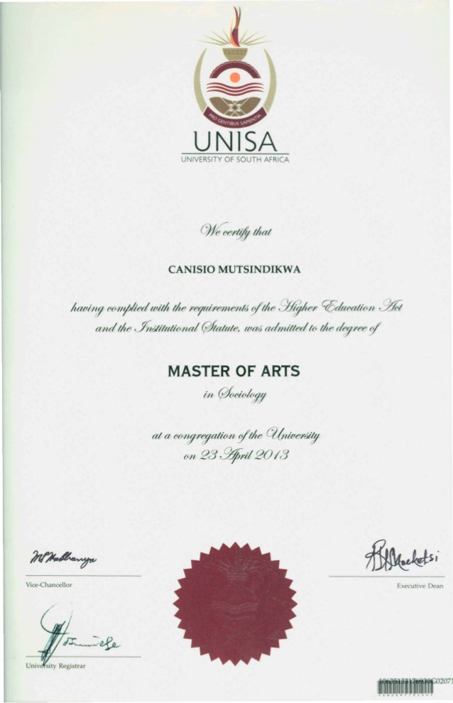Writing at masters level pgce unisa