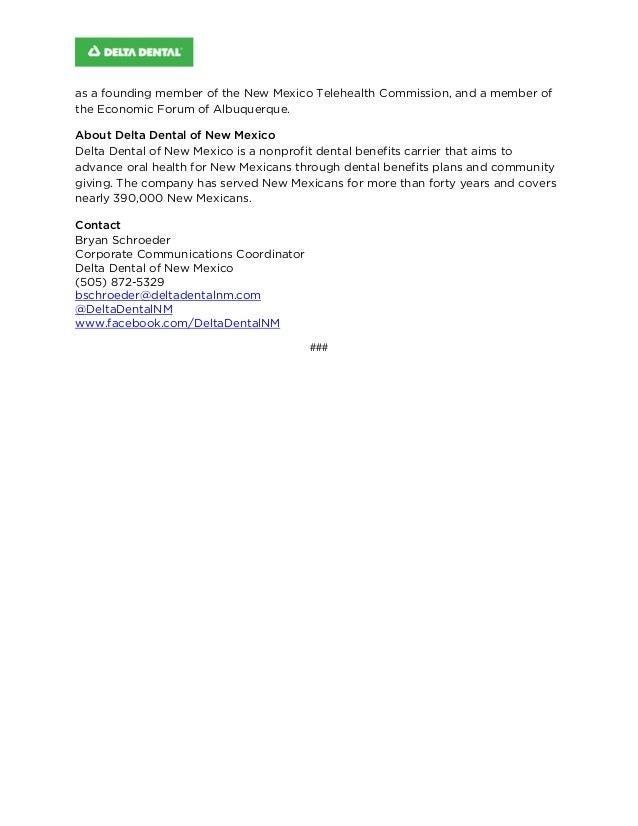 Delta Dental of New Mexico Board Names Edward J  Lopez Jr