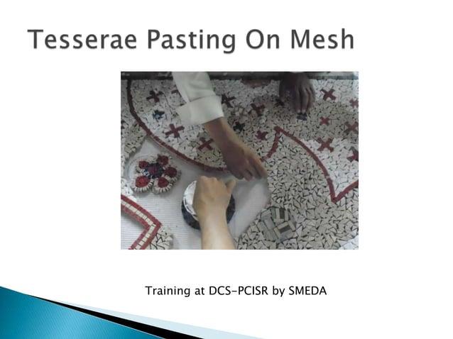 Marble Mosaic-As I perceive