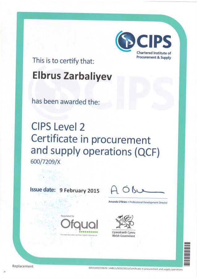 CIPS Certificate Level-2.PDF