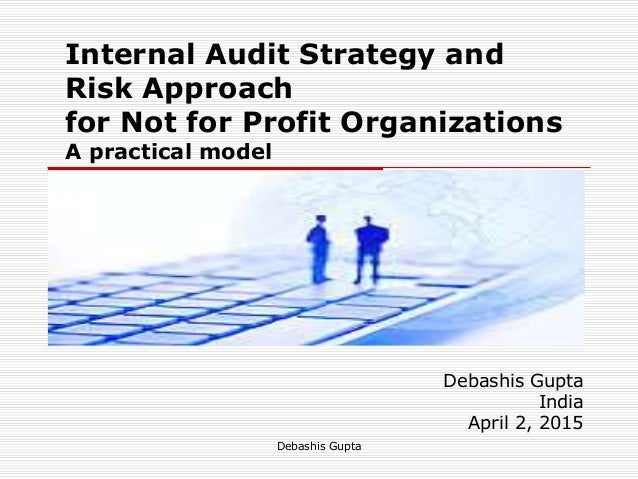 internal audit strategic plan template - internal audit strategy for non profits