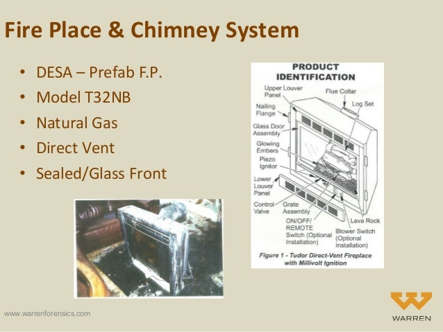 Forensic Engineering Analysis Of A Pre Fabricated Direct Vent Fireplace Fire